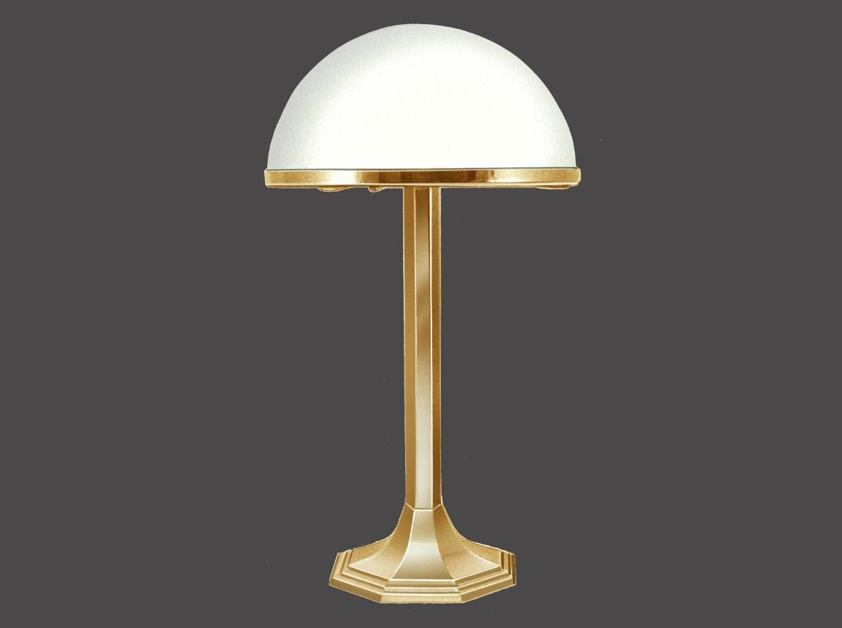 ... Table lamp / traditional / glass / brass HSP7 7 Woka Lamps Vienna ... - Table Lamp / Traditional / Glass / Brass - HSP7 7 - Woka Lamps Vienna