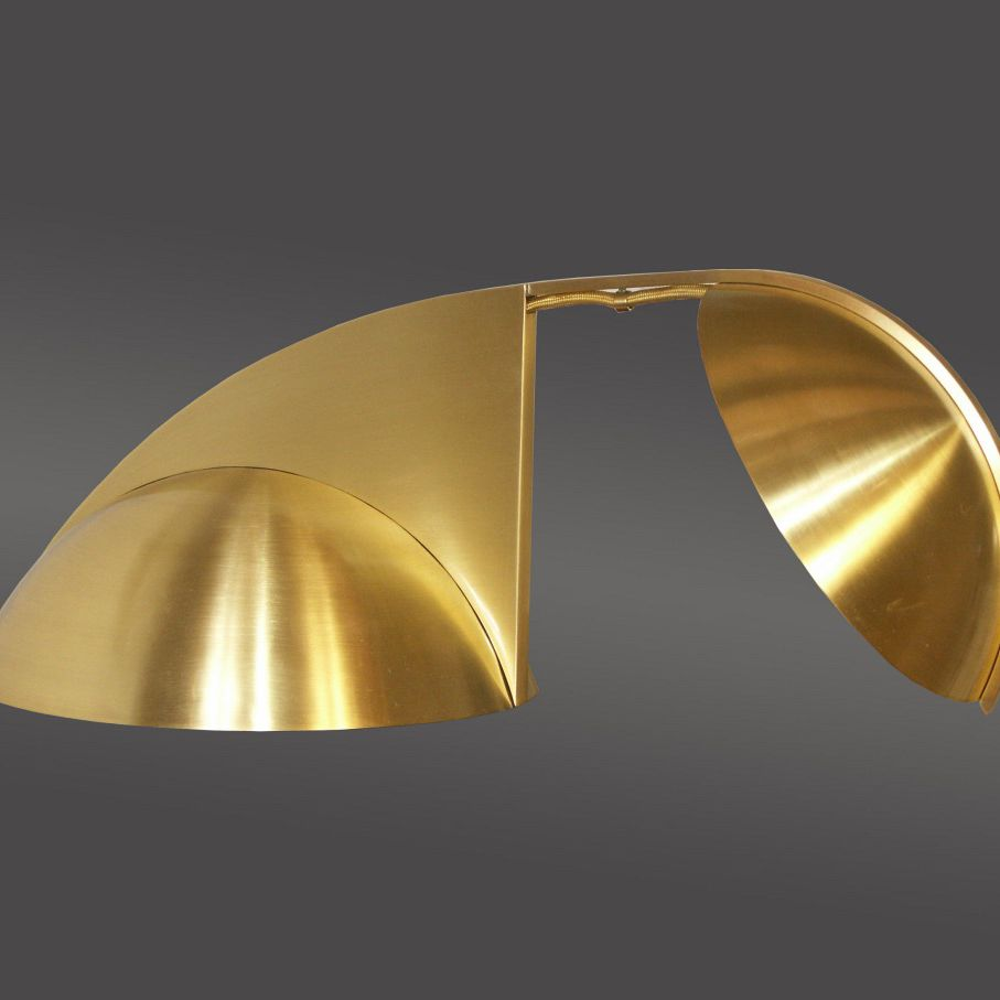 Original Lamps table lamp / original design / brass / golden - piano 20312 - woka