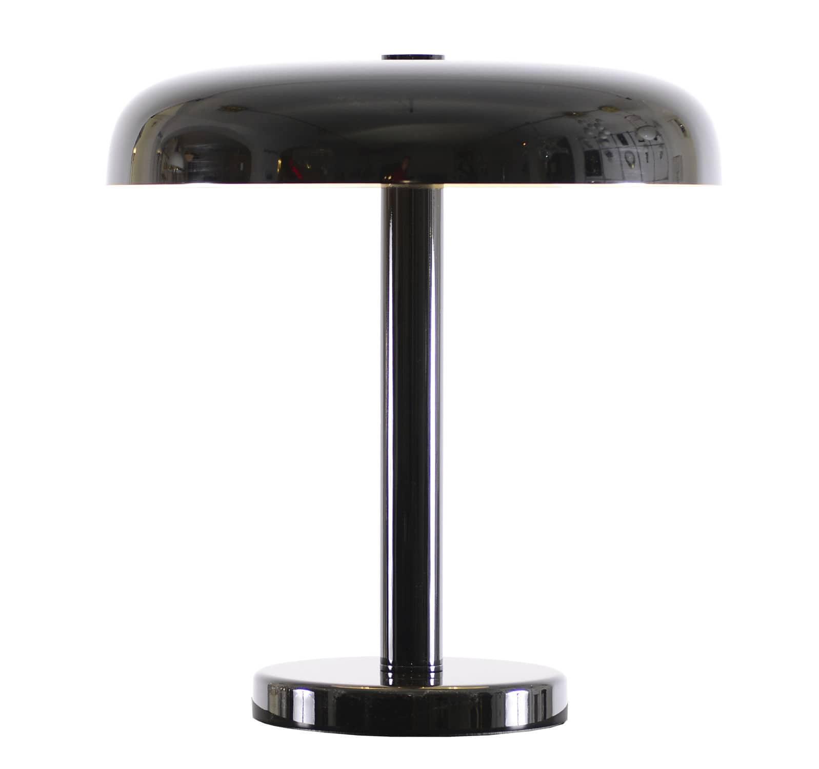 Table lamp / Bauhaus design / brass / silver - AD1 51 - Woka Lamps ...