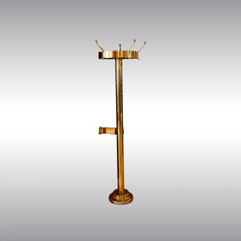 Floor Coat Rack Traditional Brass Commercial LOOSHAUS 40 Adorable Commercial Coat Racks