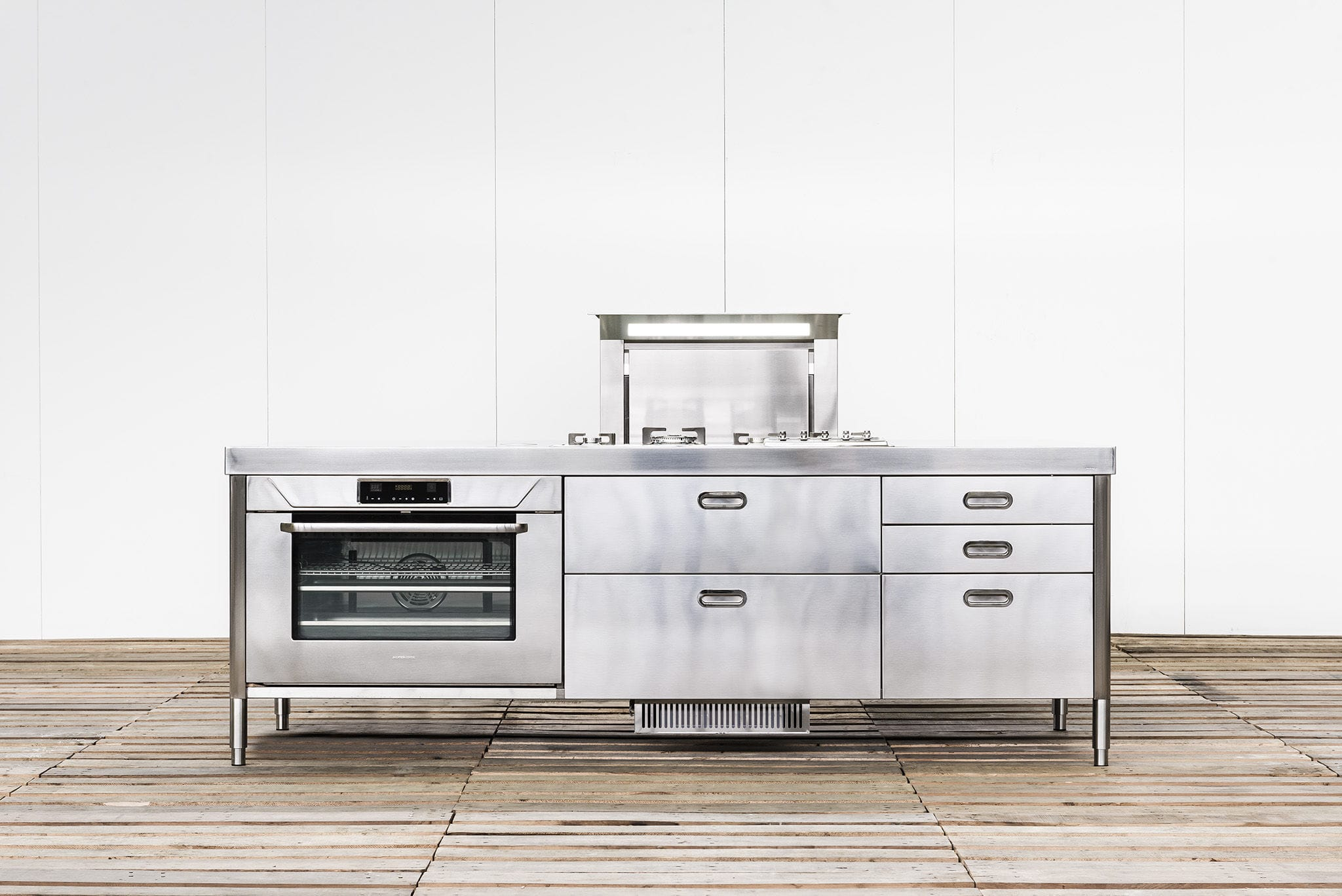 contemporary kitchen island 250 with built in extractor hood contemporary kitchen island 250 with built in extractor hood alpes inox