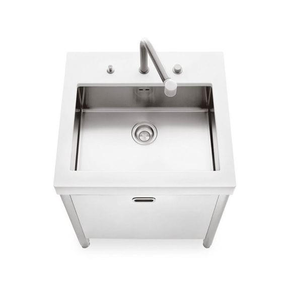 Stainless steel kitchen sink cabinet - UNITS 70 - ALPES-INOX