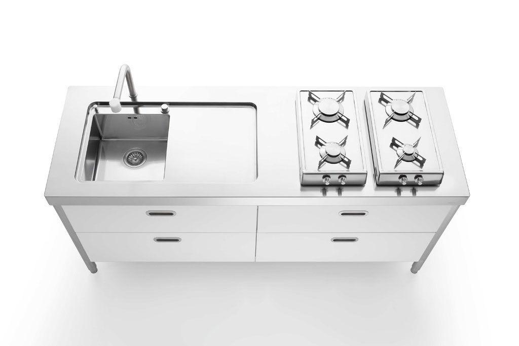 Kitchen unit - 190 by Nico Moretto - ALPES-INOX