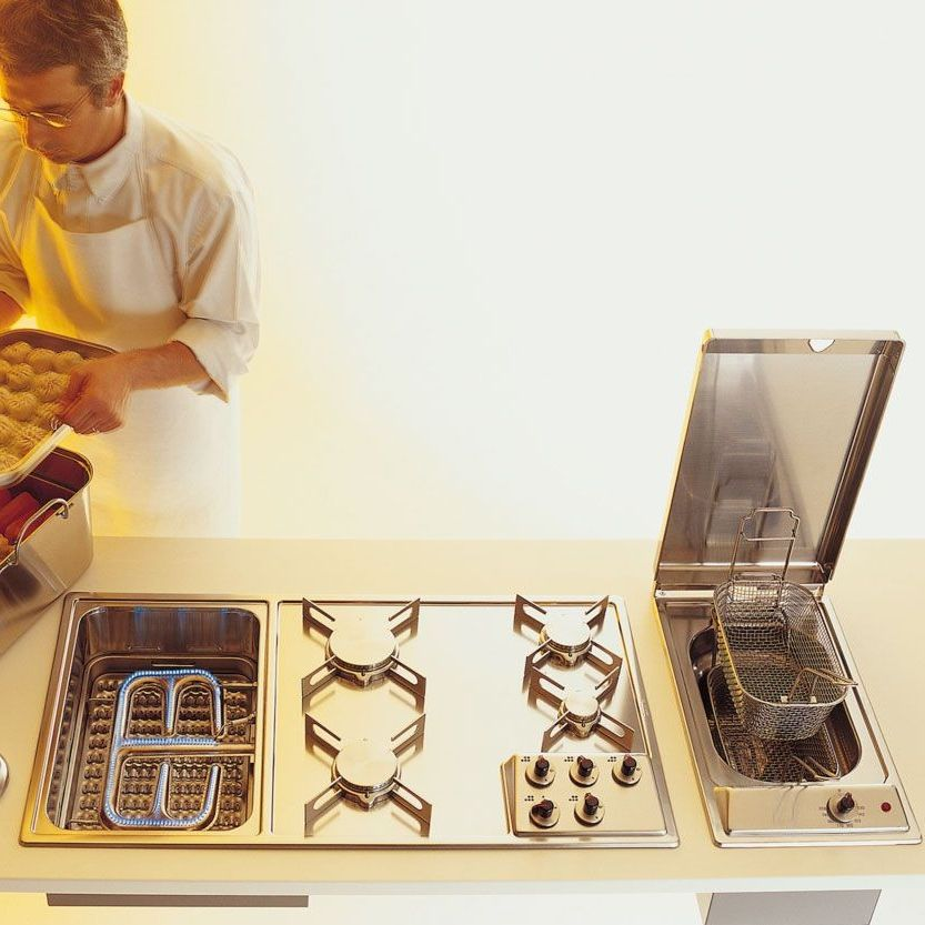 Gas grill / integrated - OUTLET - ALPES-INOX