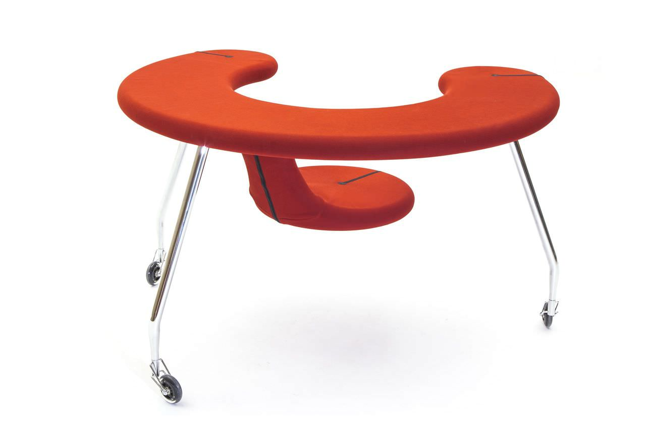 Contemporary office chair / fabric EASY RIDER by Danny Venlet BULO ...