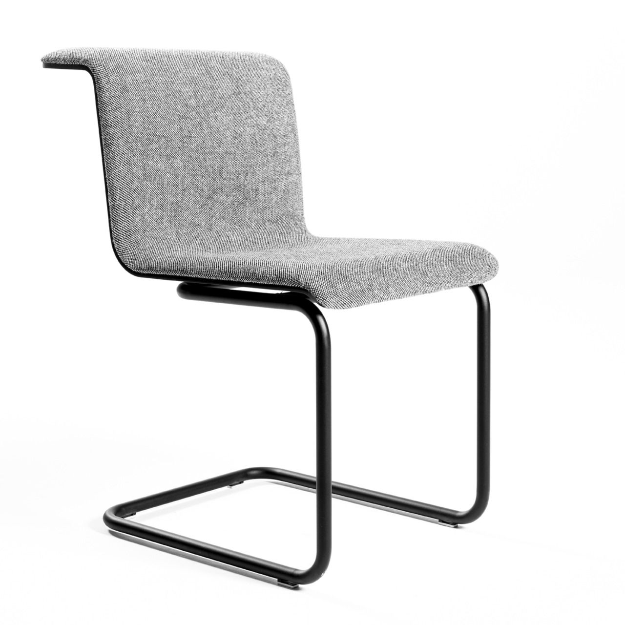 Merveilleux Contemporary Chair / Upholstered / Sled Base / Fabric   TAB By Alain Berteau