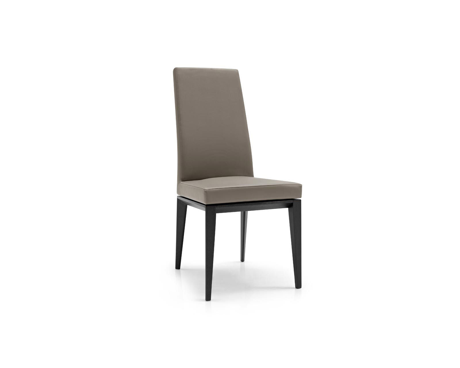 ... Contemporary Chair / With Armrests / Upholstered / High Back