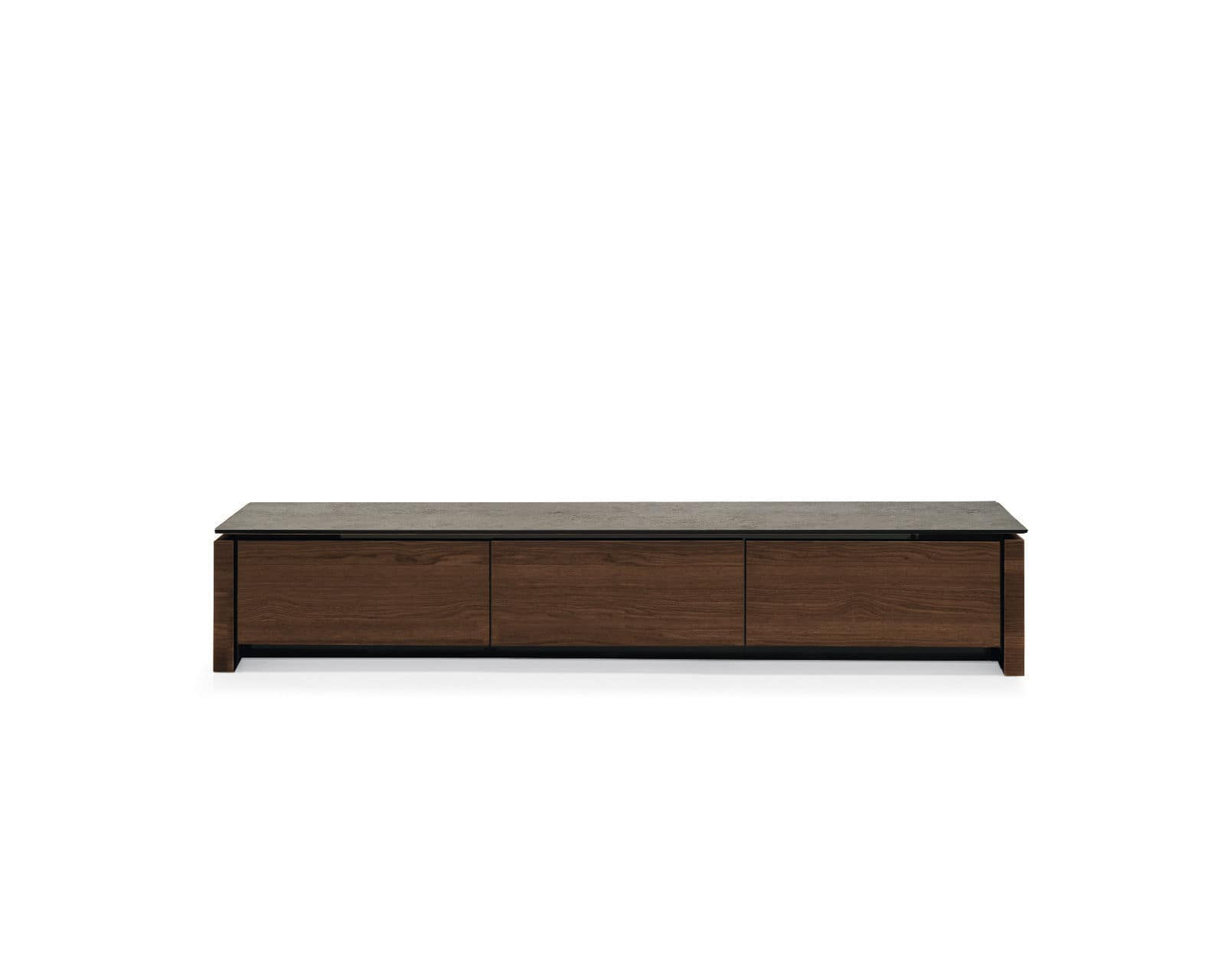 Lowboard Sideboard contemporary tv cabinet lowboard wooden glass mag calligaris