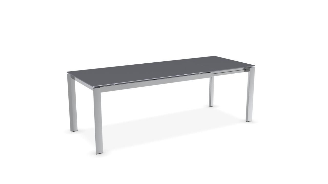 Contemporary Dining Table Metal Ceramic Melamine Duca  # Image Table Tv En Melamine