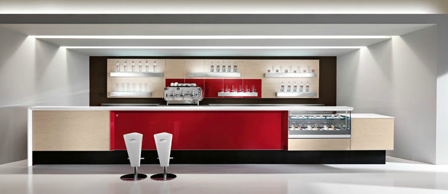Bar counter - MAXIM by Valter Panaroni - IFI
