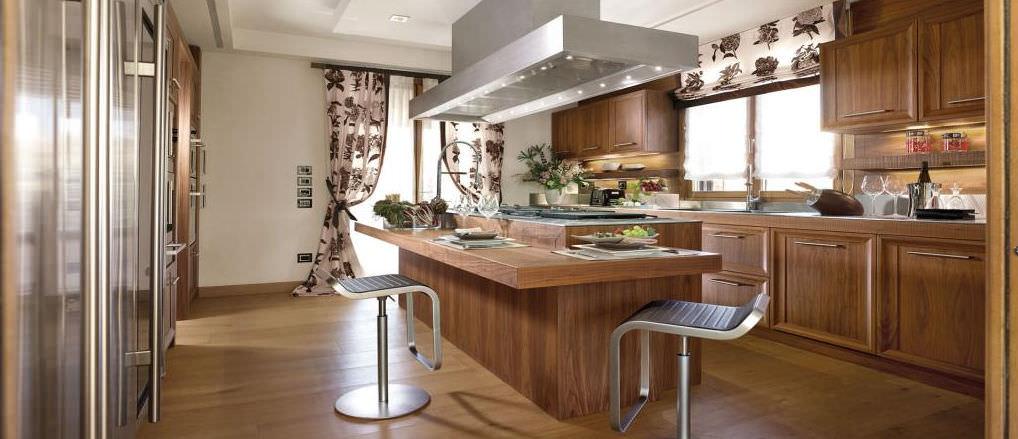 Beautiful Cucine In Legno Moderne Ideas - Design & Ideas 2017 ...