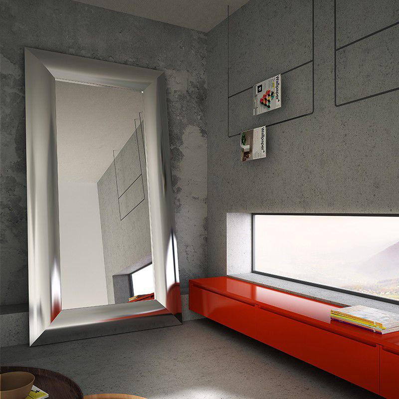 Hot water radiator / electric / aluminum / original design - MIRROR ...