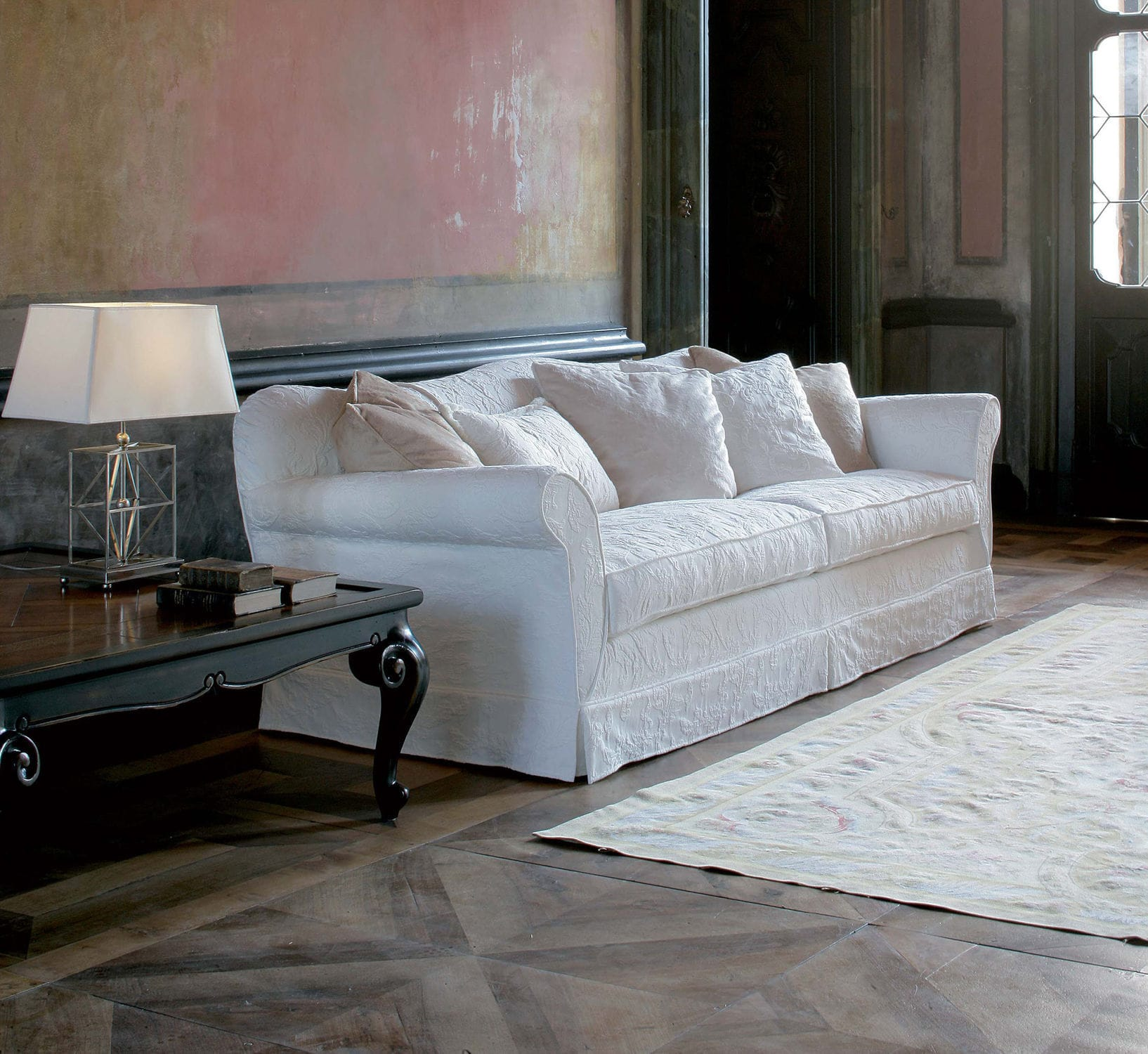 Contemporary sofa / fabric / with removable cover - BELLINI ...