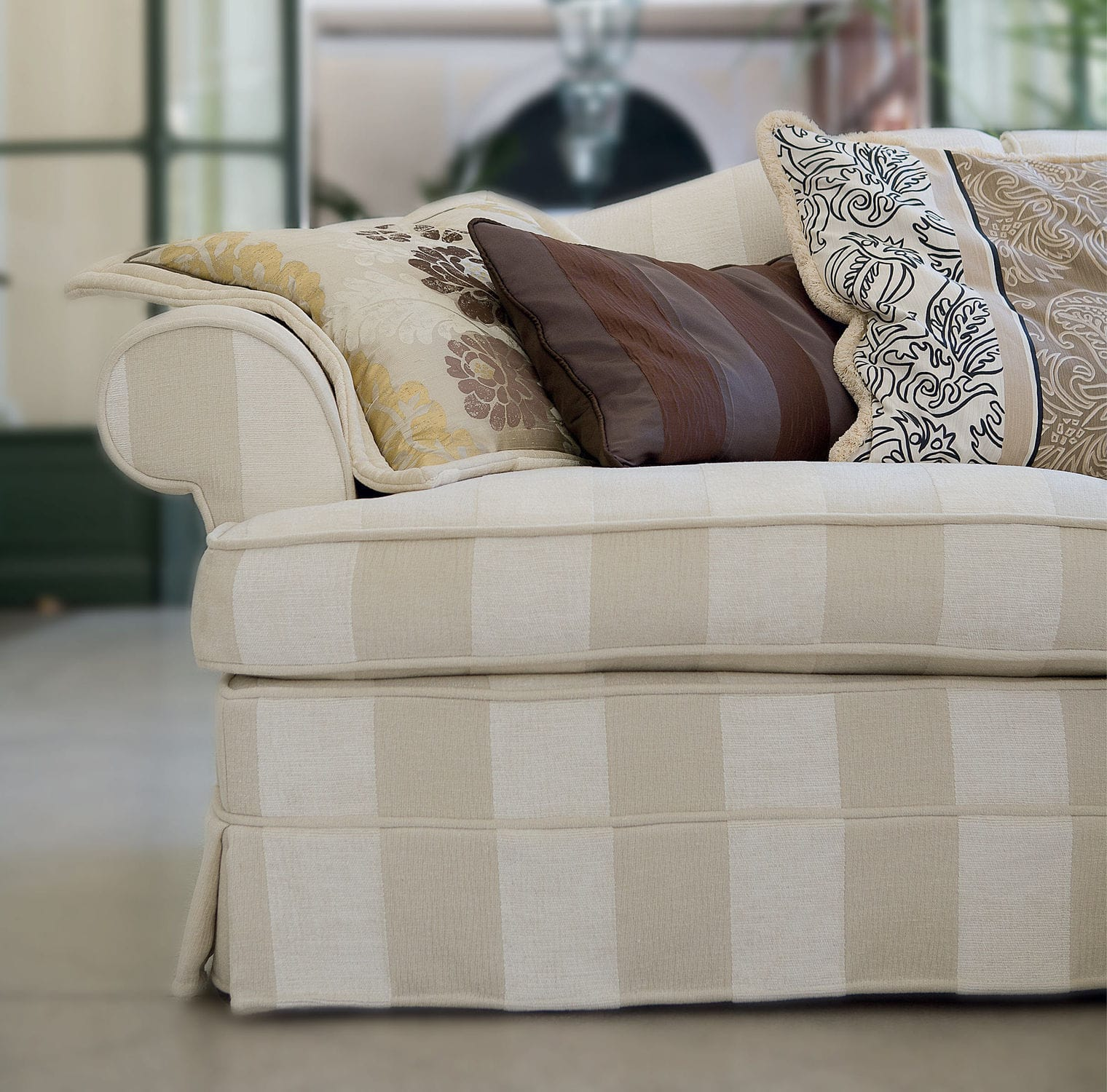 Corner sofa / contemporary / fabric / with removable cover ...