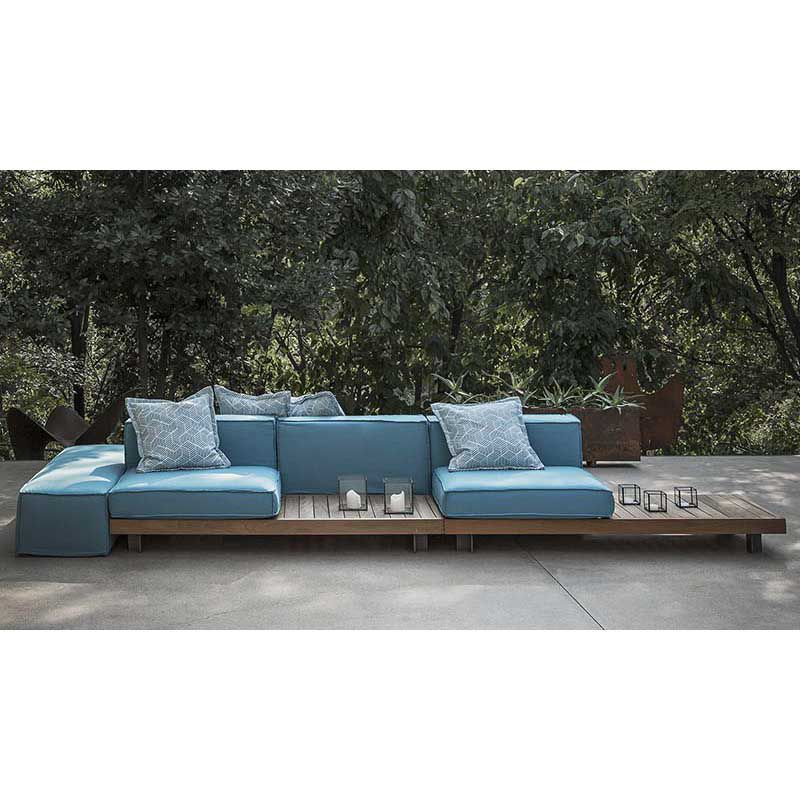 Modular Sofa  Contemporary  For Reception Areas  Outdoor  York
