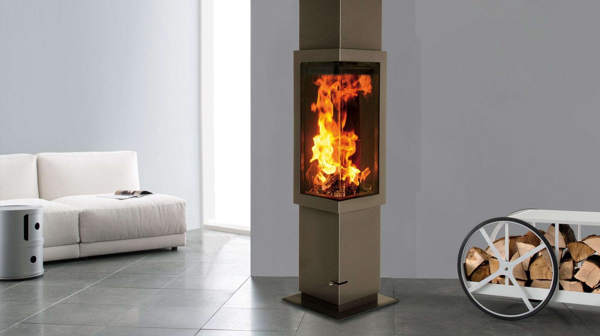 wood burning fireplace insert multi fuel corner frankfurt