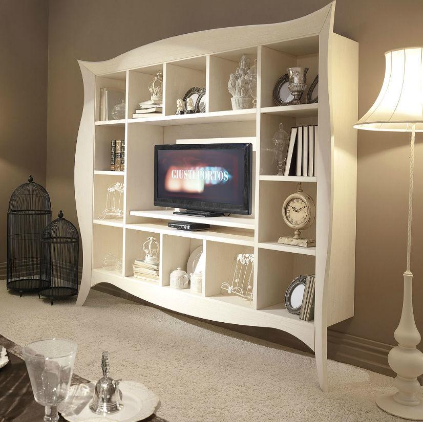 Contemporary TV cabinet wooden LIBERTY GIUSTI PORTOS