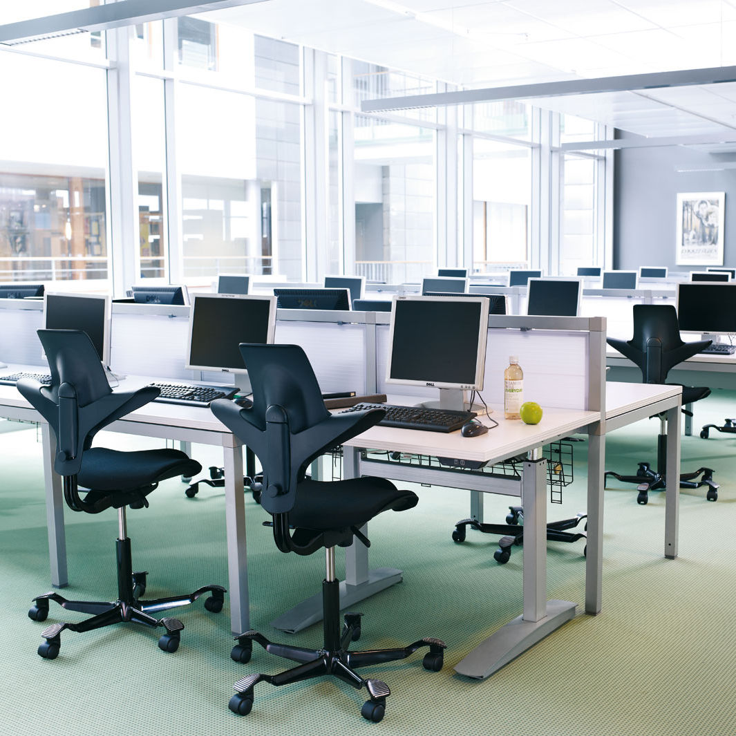 Contemporary Office Chair On Casters Star Base Adjustable - Office chairs norwich