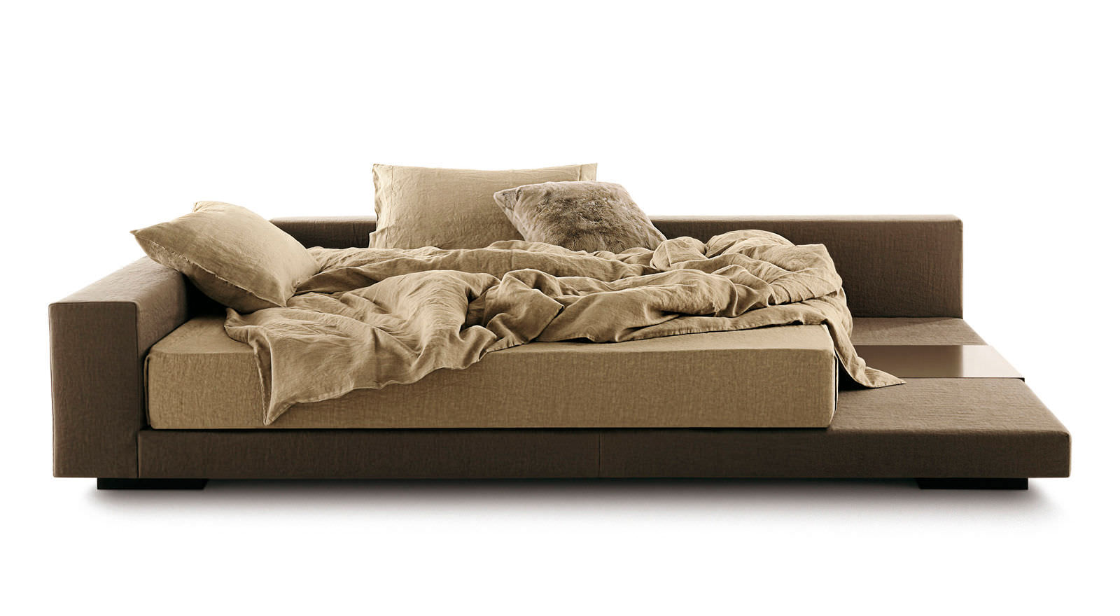 Double Bed / Single / Contemporary / With Upholstered Headboard   YOU AND  ME ISOLA By Ennio Arosio   Ivano Redaelli