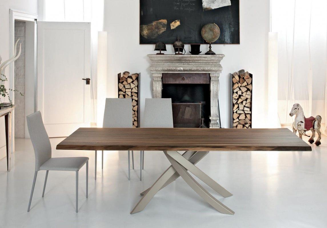 Contemporary table / glass / marble / concrete - ARTISTICO ...