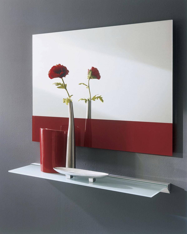 wallmounted mirror  contemporary  rectangular  eidos  - wallmounted mirror  contemporary  rectangular  eidos