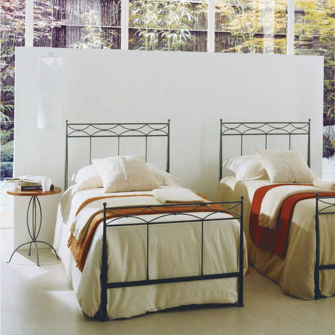 Wrought iron single bed - Single Bed Traditional Wrought Iron Dedalo