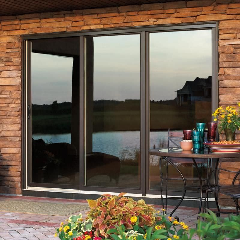 Ordinaire Sliding Patio Door / Wooden / Fiberglass / Double Glazed   WOOD ULTREX
