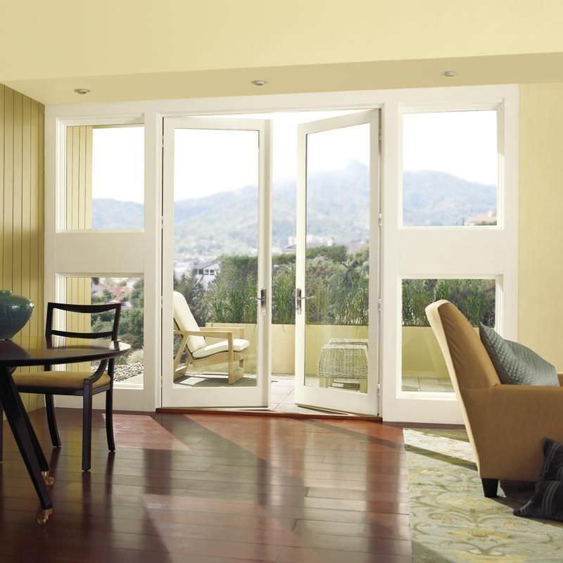 Swing French Door / Wooden / Fiberglass / Double Glazed   WOOD ULTREX:  OUTSWING