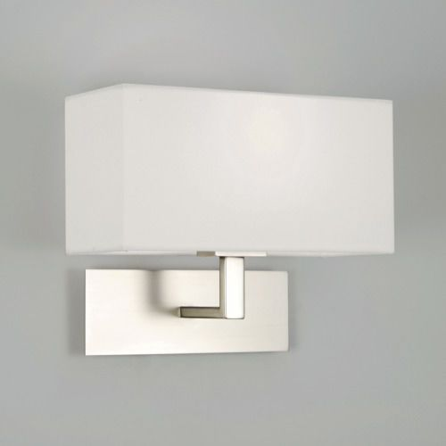 Contemporary Wall Light / Metal / Fabric / Incandescent   PARK LANE 0763