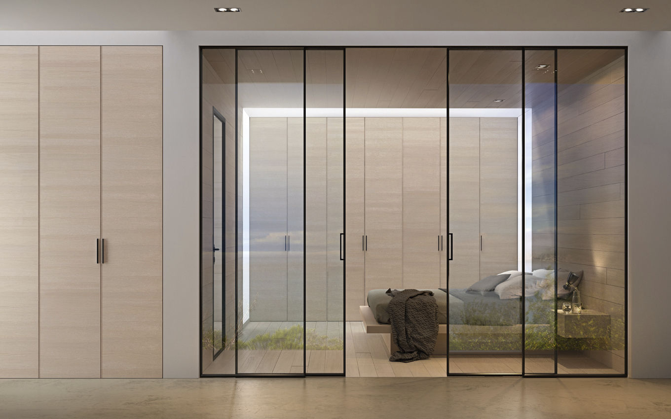 ... Glazed Door / Indoor / Sliding / Aluminum ...