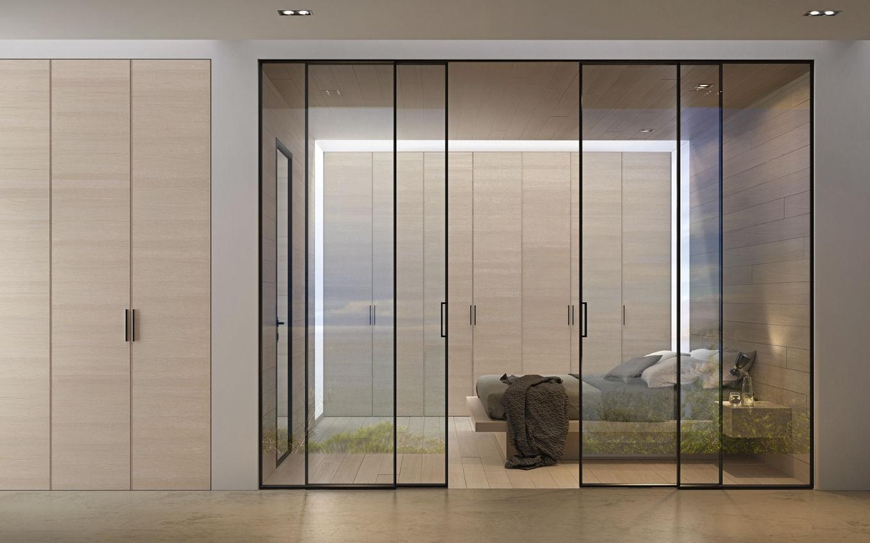 ... Glazed Door / Indoor / Sliding / Aluminum ...