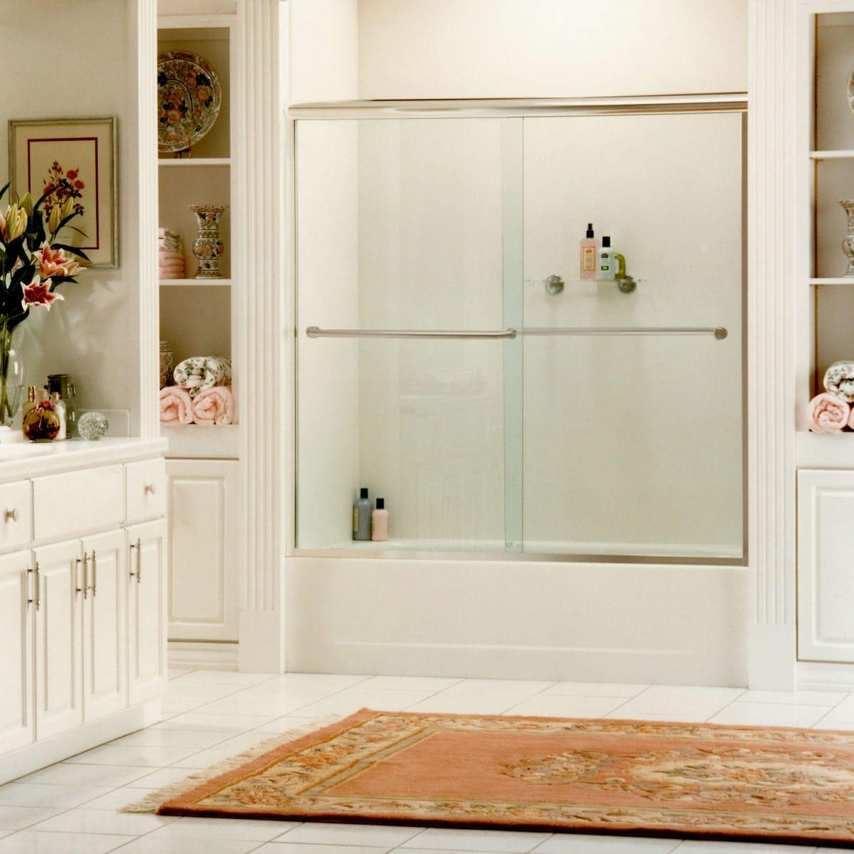 Sliding bath screen - 1040 / 1050 - Alumax Bath Enclosures
