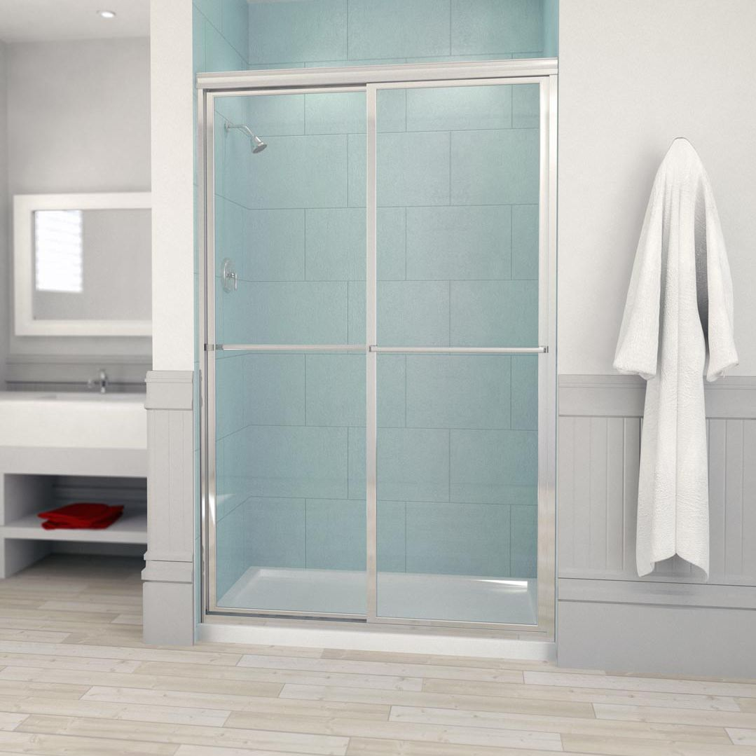 Sliding shower screen / for alcoves - 640 / 650 - Alumax Bath Enclosures