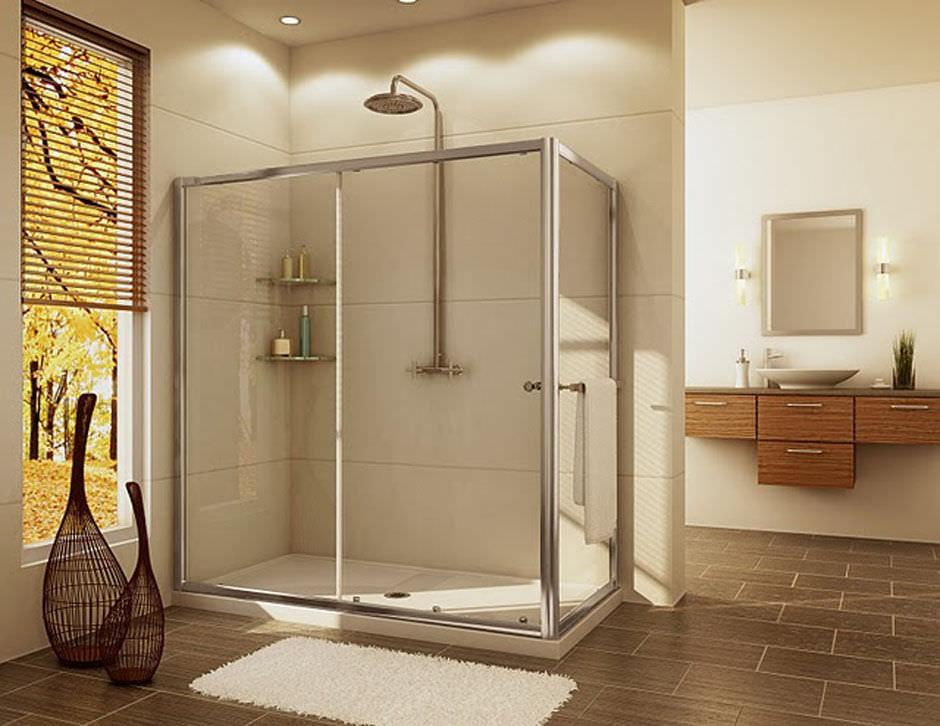 Sliding shower screen / corner - KONA: K93Z - Alumax Bath Enclosures