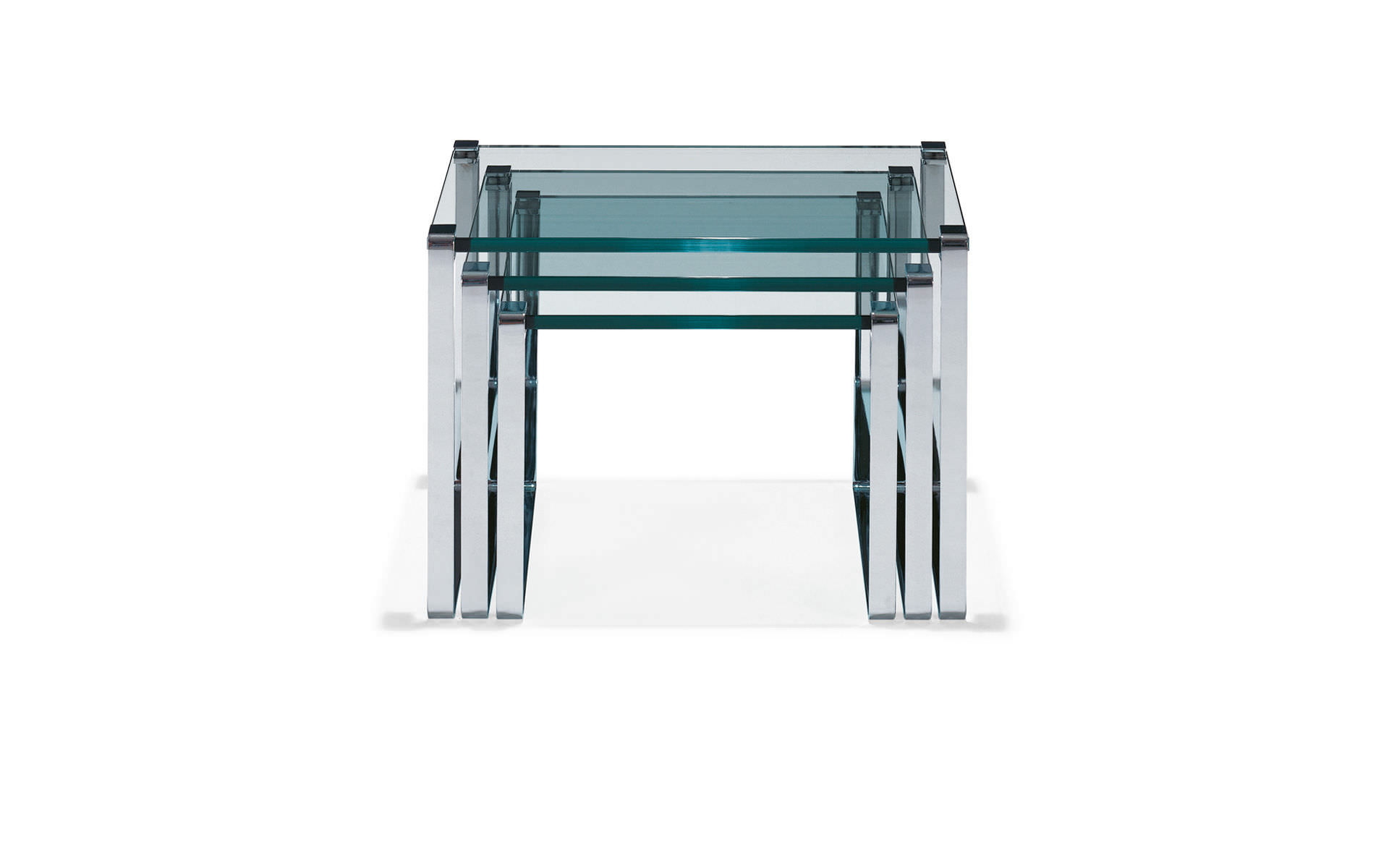 contemporary coffee table  glass  square   klassik by peter  -  contemporary coffee table  glass  square  klassik by peterdraenert draenert