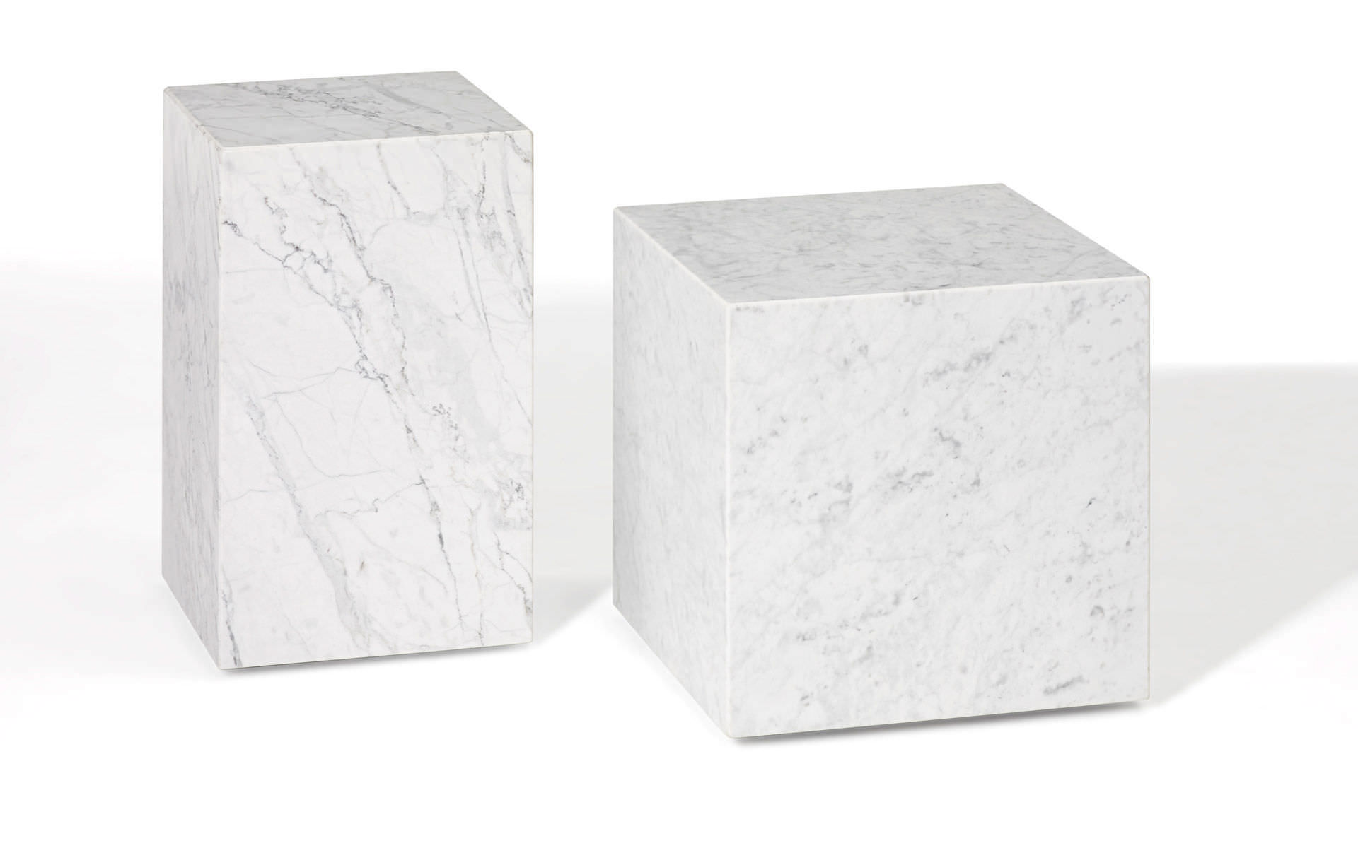 Contemporary Side Table / Natural Stone / Cube Shaped   1365 QBIC By Patric  Draenert 2014