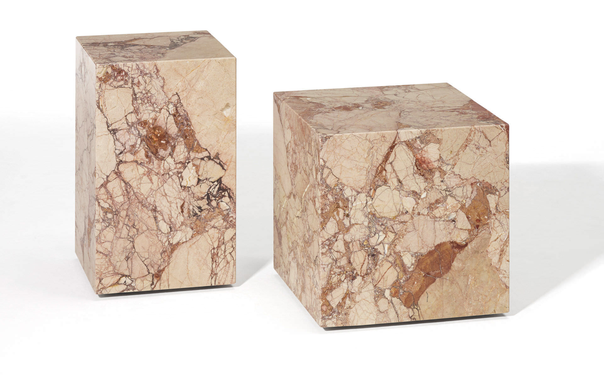 ... Contemporary Side Table / Natural Stone / Cube Shaped 1365 QBIC By  Patric Draenert 2014
