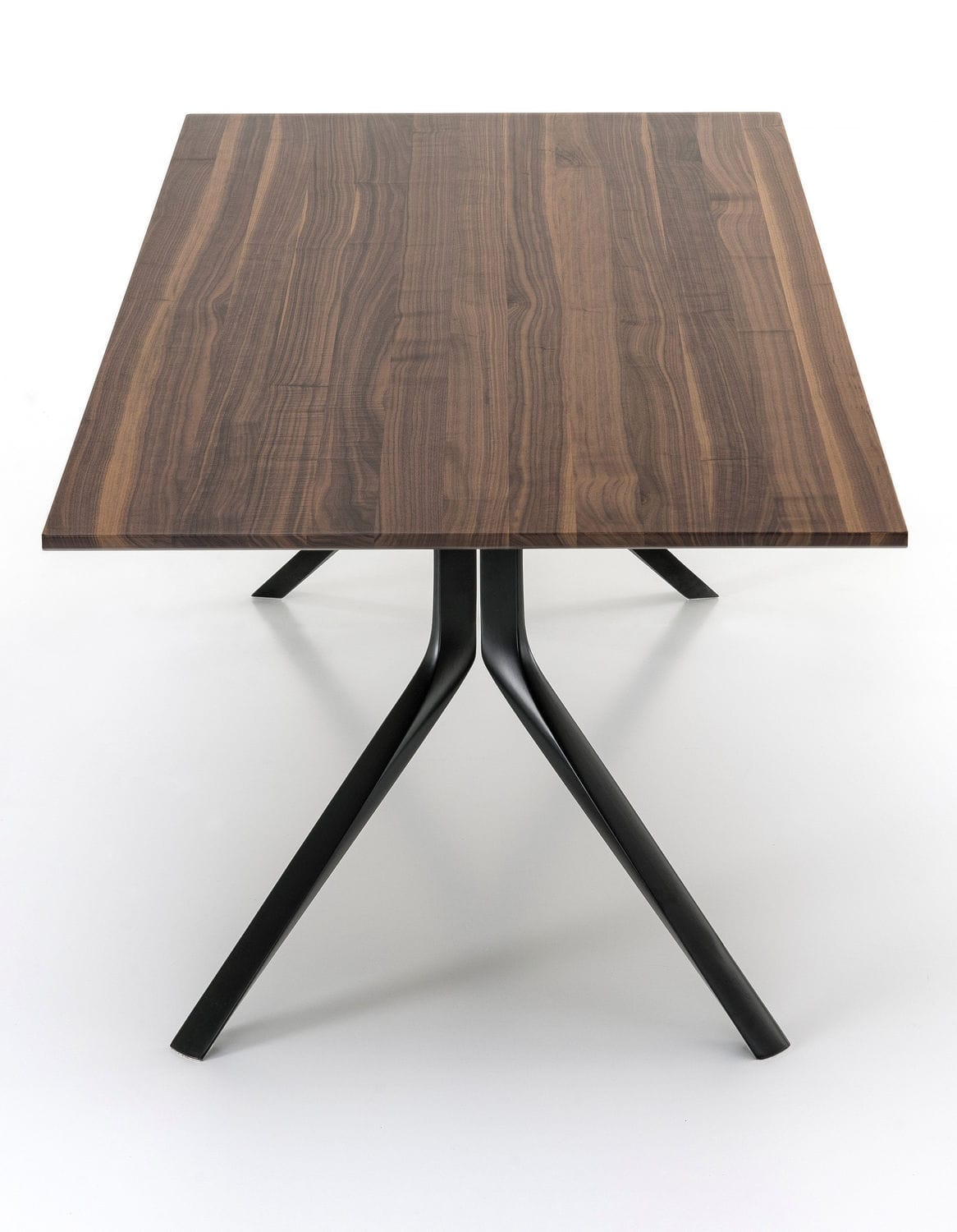 Lovely Contemporary Table / Wooden / Aluminum / Rectangular OOPS I DID IT AGAIN By  Monica Graffeo ...