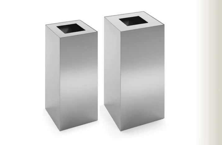 public trash can stainless steel riga by jm massana u0026 jm tremoleda mobles