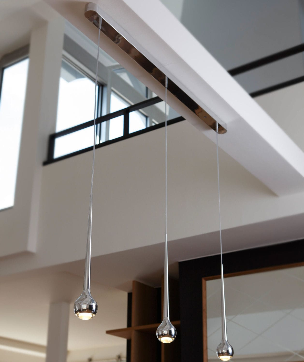 Pendant lamp / contemporary / aluminum / dimmable - FALLING : TRACE ...
