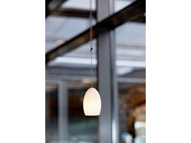 Pendant Lamp Contemporary Porcelain Dimmable