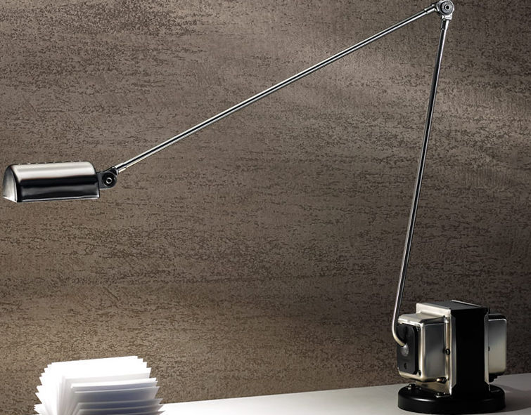 Desk lamp / contemporary / metal / orientable - DAPHINE by Tommaso ...
