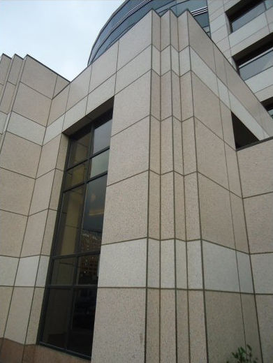 Natural stone cladding / textured / panel / durable - EXTERIOR ...