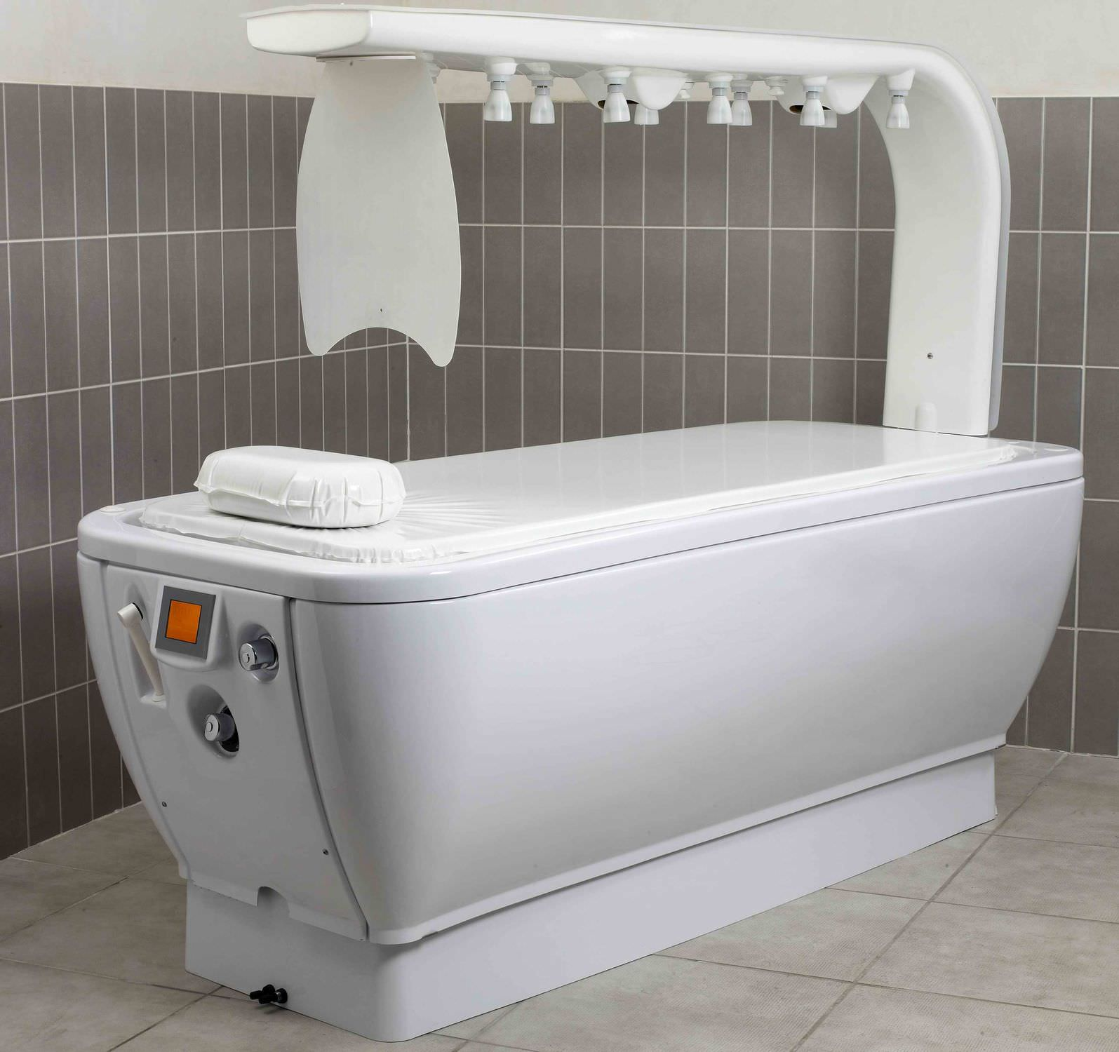 Vichy shower / stainless steel / for spas / horizontal - DIMÉ ...