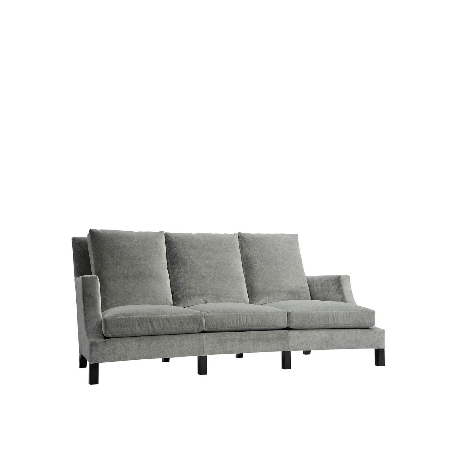 Contemporary Sofa Fabric 3 Seater 4 D Alliance