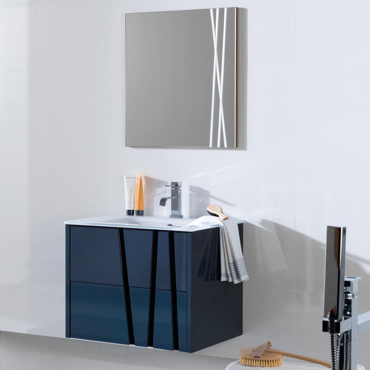 Wall Hung Washbasin Cabinet / Wooden / Contemporary / Lacquered   BAMBU