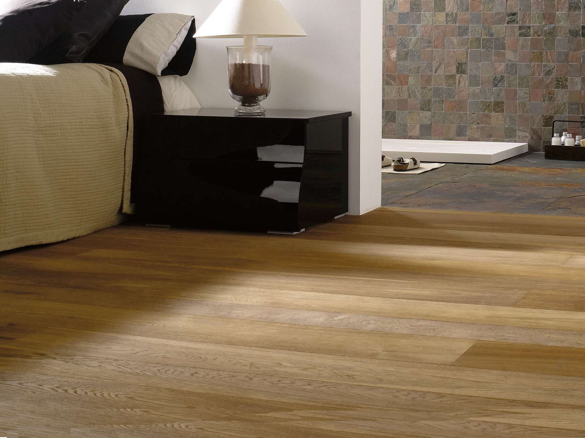 Engineered parquet flooring glued oak oiled MODERN MULT