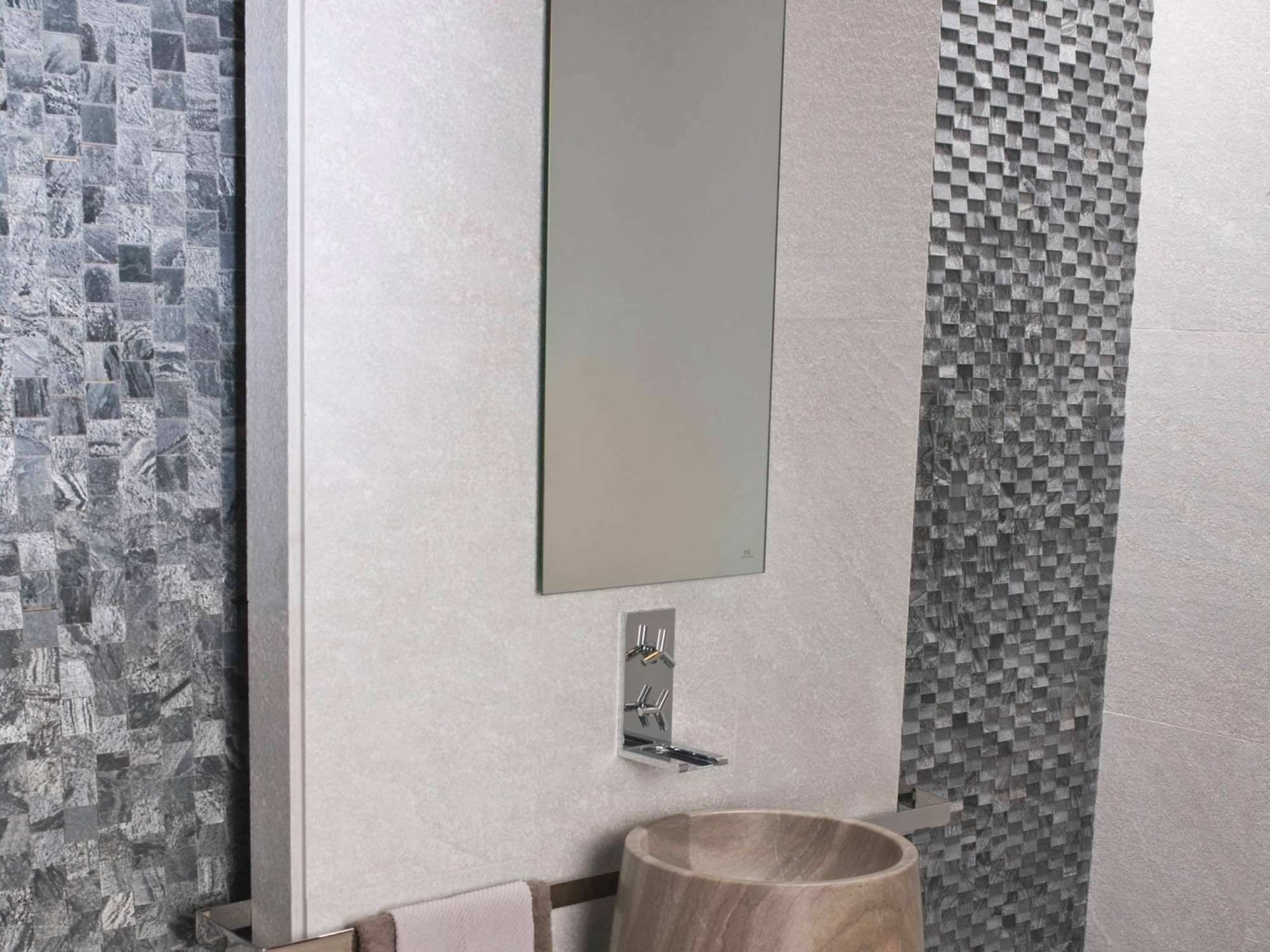Bathroom Tiles In Chennai bathroom tile / wall / quartzite / plain - chennai white flamed