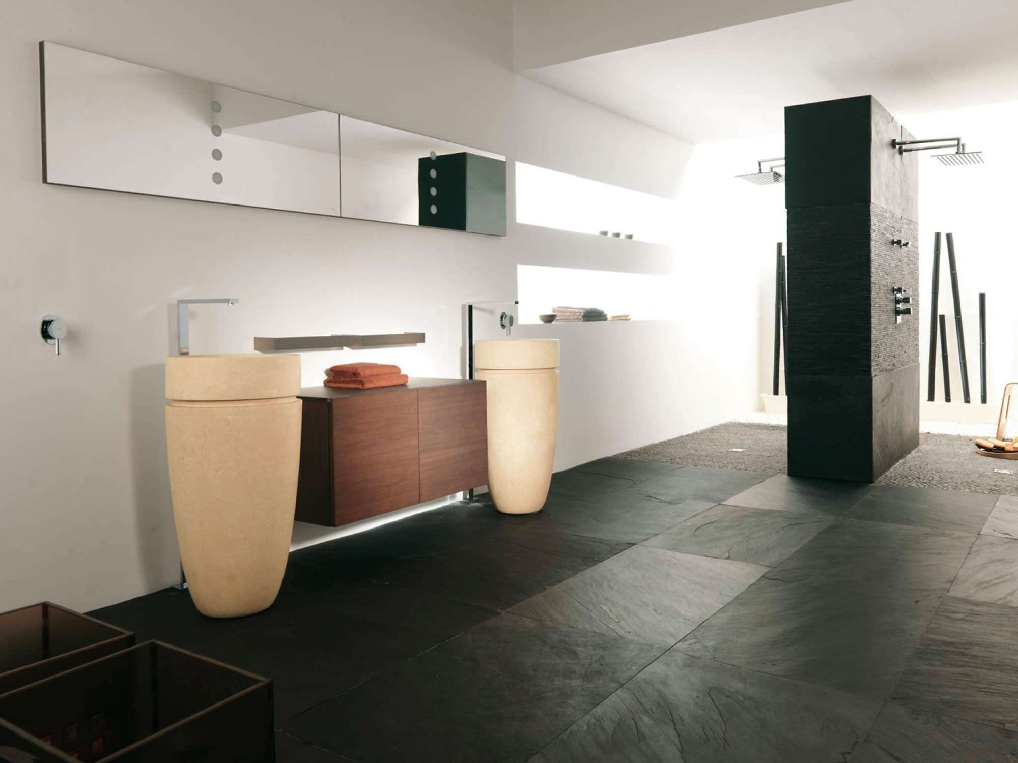Indoor tile bathroom floor slate BHUTAN NATURAL L ANTIC