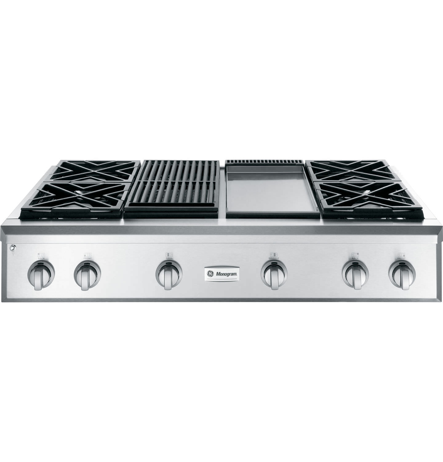 gas cooktop with grill. Gas Cooktop / Commercial - ZGU484NGPSS With Grill